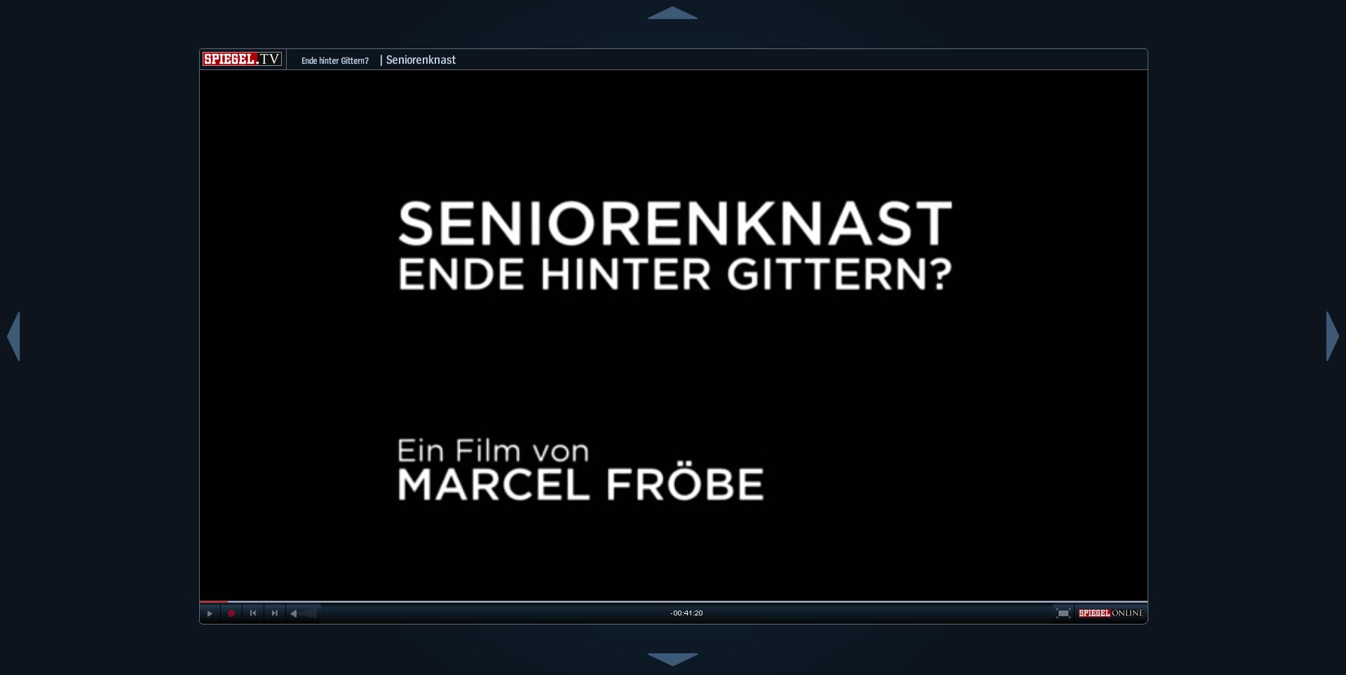 SPIEGEL.TV und SPIEGEL ONLINE - Seniorenknast: Ende hinter Gittern