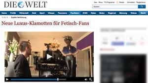 WELT Video: Neue Luxus-Klamotten für Fetisch-Fans